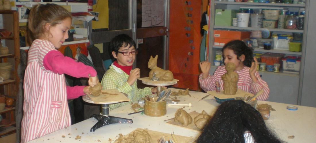 Taller de ceràmica per nens